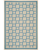 Safavieh Martha Stewart Msr4258 Cream - Blue Area Rug