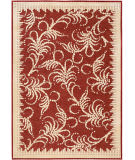 Safavieh Martha Stewart Msr4449c Red - Ivory Area Rug