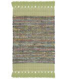 Safavieh Montauk Mtk972g Green - Multi Area Rug