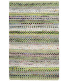 Safavieh Montauk Mtk975g Green - Multi Area Rug