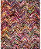 Safavieh Nantucket NAN141A Pink / Multi Area Rug