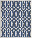 Safavieh Newport Npt434c Royal Blue / White Area Rug