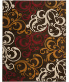 Safavieh Newbury Nwb8703 Brown / Gold Area Rug