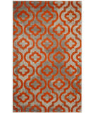 Safavieh Porcello Prl7734 Light Grey - Orange Area Rug