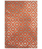 Safavieh Porcello Prl7734f Light Grey - Orange Area Rug