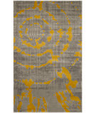 Safavieh Porcello Prl7735 Light Grey - Yellow Area Rug