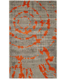 Safavieh Porcello Prl7735 Light Grey - Orange Area Rug