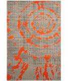 Safavieh Porcello Prl7735f Light Grey - Orange Area Rug