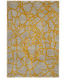 Safavieh Porcello Prl7737c Light Grey - Yellow Area Rug