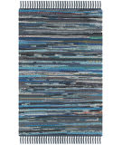 Safavieh Rag Rug Rar121c Ink / Multi Area Rug
