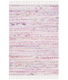 Safavieh Rag Rug Rar125e Light Pink - Multi Area Rug