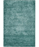 Safavieh New York Shag Sg165-5858 Turquoise Area Rug