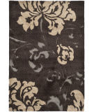 Safavieh Florida Shag Sg458-2879 Dark Brown / Smoke Area Rug