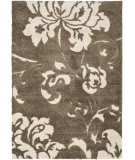 Safavieh Florida Shag Sg458-7913 Dark Brown / Smoke Area Rug