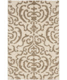 Safavieh Florida Shag Sg462-1113 Cream / Beige Area Rug