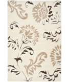 Safavieh Florida Shag Sg463-1128 Cream / Dark Brown Area Rug