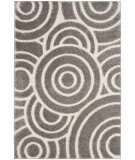 Safavieh Memphis Shag SG830G Grey - Cream Area Rug
