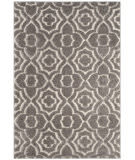 Safavieh Memphis Shag SG832G Grey - Cream Area Rug