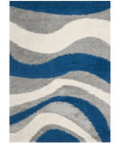 Safavieh Shag Sg913-6580 Blue / Grey Area Rug