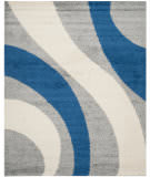 Safavieh Shag Sg914-8065 Grey / Blue Area Rug
