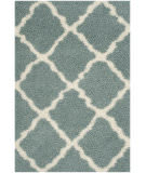 Safavieh Dallas Shag Sgd257c Light Blue - Ivory Area Rug