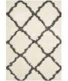 Safavieh Dallas Shag Sgd257h Ivory - Dark Grey Area Rug