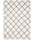 Safavieh Dallas Shag Sgd258h Ivory - Dark Green Area Rug