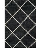 Safavieh Hudson Shag Sgh281g Dark Grey - Ivory Area Rug