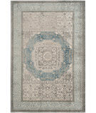 Safavieh Sofia Sof365a Light Grey - Blue Area Rug