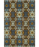 Safavieh Soho SOH445B Brown / Blue Area Rug