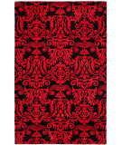 Safavieh Soho SOH452A Black / Red Area Rug