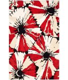Safavieh Soho SOH729A Black / Red Area Rug
