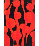 Safavieh Soho SOH755A Black / Red Area Rug
