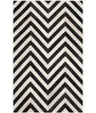 Safavieh Studio Leather Stl122a White - Black Area Rug