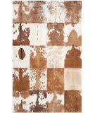 Safavieh Studio Leather Stl169a Ivory - Tan Area Rug