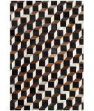 Safavieh Studio Leather Stl511a Brown - Ivory Area Rug