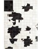 Safavieh Studio Leather Stl515a Ivory - Black Area Rug