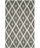 Safavieh Chatham Cht748d Dark Grey / Ivory Area Rug