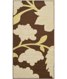Safavieh Hampton HAM552AB Brown / Ivory Area Rug