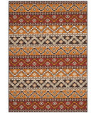 Safavieh Veranda VER095-0332 Red / Chocolate Area Rug
