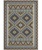 Safavieh Veranda Ver096-642 Green / Chocolate Area Rug