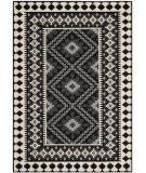 Safavieh Veranda Ver099 Black - Creme Area Rug