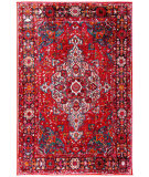 Safavieh Vintage Hamadan VTH222A Red - Multi Area Rug