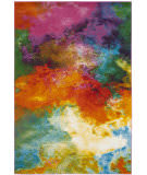 Safavieh Water Color Wtc619d Orange - Green Area Rug