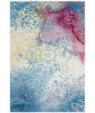 Safavieh Water Color Wtc620g Light Blue - Light Yellow Area Rug