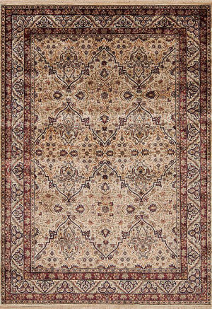 Samad Stately Manor Griffin Wheat - Wheat Area Rug