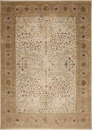 Samad Extravagance Bellagio Ivory - Cream Area Rug