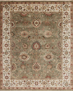 Samad Passions Excitement Sage - Ivory Area Rug