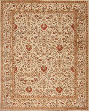 Samad Empire Mountbatten Ivory Area Rug
