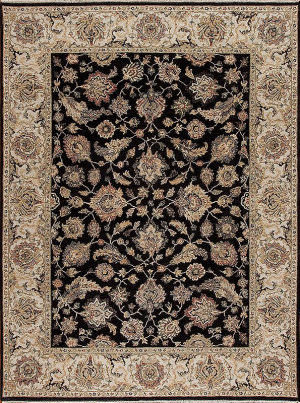 Samad Sovereign Catherine Black - Ivory Area Rug
